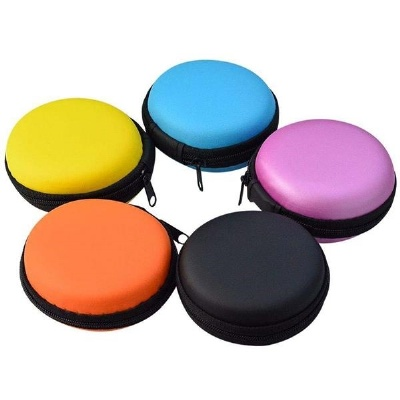 Mini Earphone Headphone Carrying Case Purse