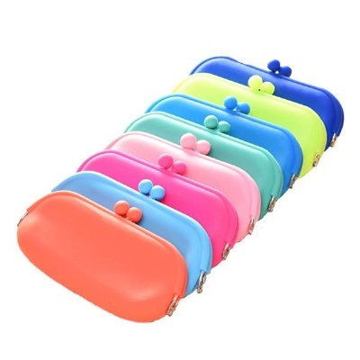 Silicone Rubber Coin Purse Cosmetic Bag