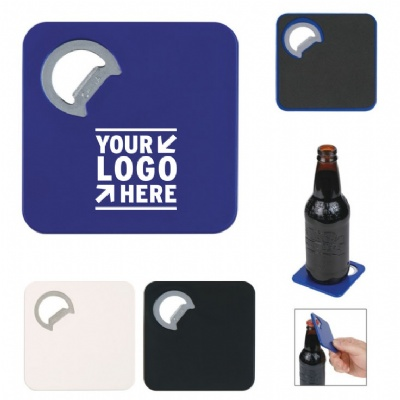 Dual Use Beer Opener Cup Coaster