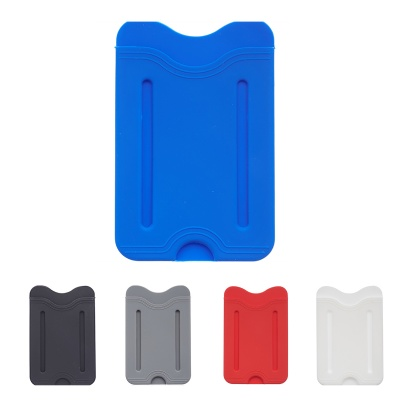 Finger Grip Cell Phone Silicone Card Holder