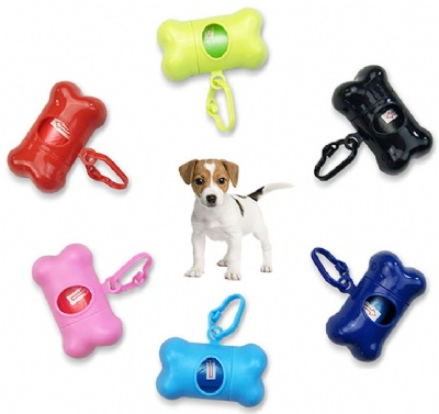 Pet Poop Bags Dispenser with Clip