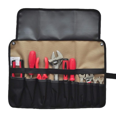 Oxford Roll Up Tool Bag Knife Pouch