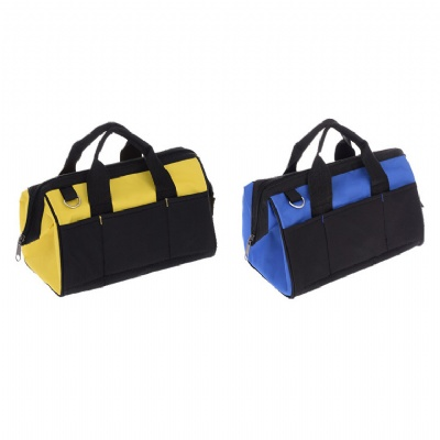 Wide Mouth Tool Tote Bag Multi-Pocket