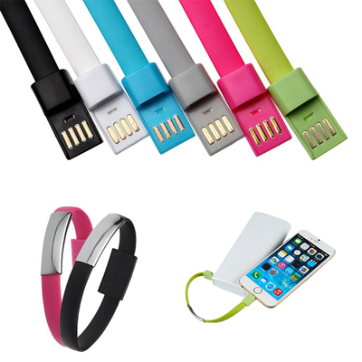 Wristband Bracelet Micro USB Charger Cable