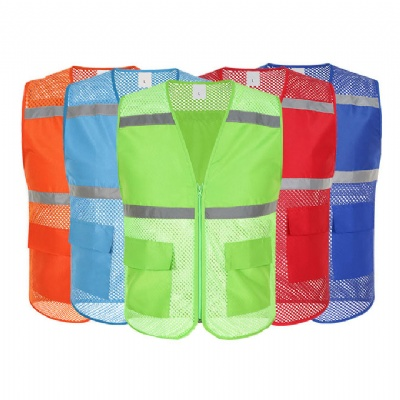 Unisex Reflective Volunteer Work Vest