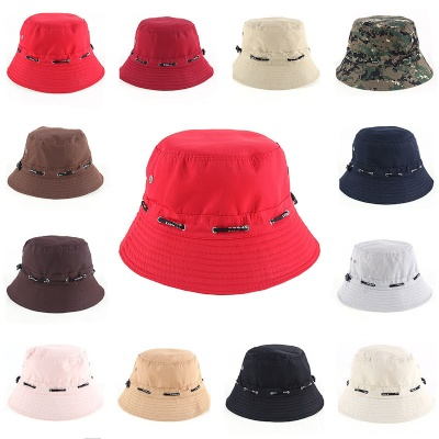 Cotton Fishing Bucket Hat Sun Cap