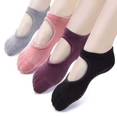 Yoga Socks Ballet Exercise Non Slip Anti-skid Socks
