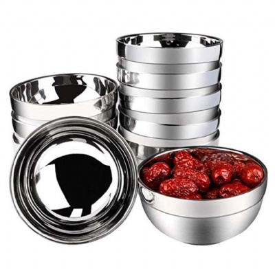 Insulated Stainless Steel Bowls Double Walled