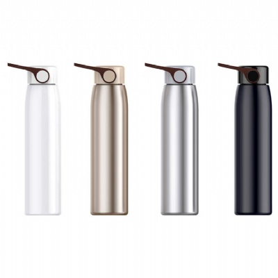 Stainless Steel Vacuum Insulated Mug Cup w/ Handle
