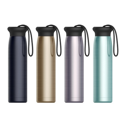 Silicone Rope Stainless Steel Vacuum Insulated Bottle Cup