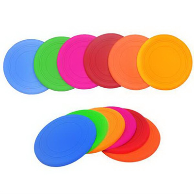 Pet Dog Silicone Flying Disc