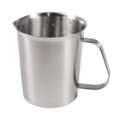 Stainless Steel Measuring Cup with Handle