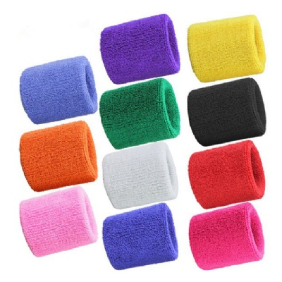 Athletic Terry Cloth Wrist Sweatbands