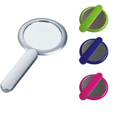 Foldable Make Up Round Mirror