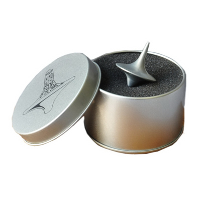 Spinning Top With Metal Box