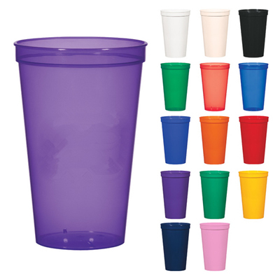 24 oz. Plastic Stadium Cups