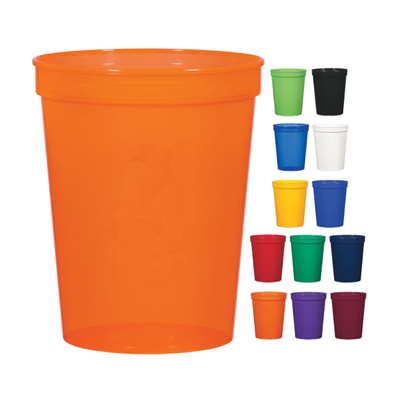 12 oz. Plastic Stadium Cups