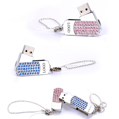 2GB Rhinestone USB Flash Drive
