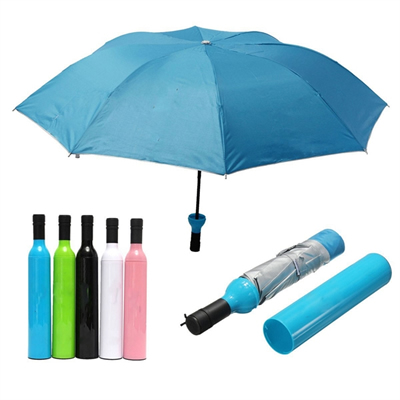 outdoor folding UV protection bottle umbrella
