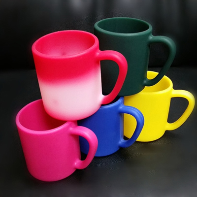 Silicone Color Changing Coffee Mugs