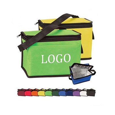 Non woven Insulated Cooler Bag 6 Pack