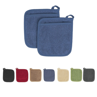 100% Cotton Terry Cloth Pot Holder