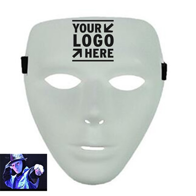 Full Face White Hallowmas Mask