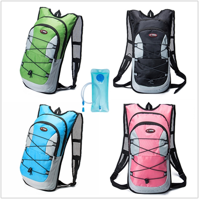 Hydration Pack with 2L Backpack Water Bladder