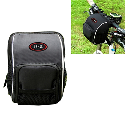 Bicycle Handlebar Bags Front Baskets w/ Rain Cover