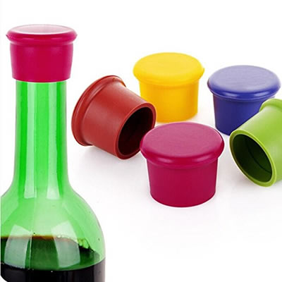 Universal Silicone Wine Beer Bottle Stopper