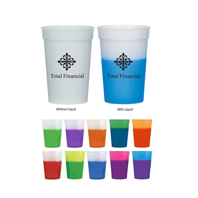16 oz Color Changing Custom Mood Stadium Cup
