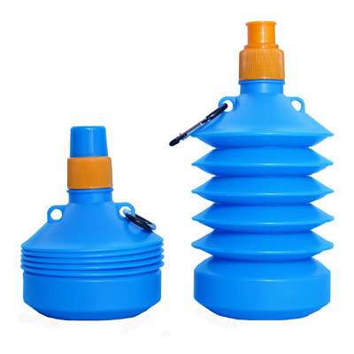 17 oz Collapsible Water Bottle Sport Bottle