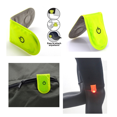 LED Safety Light with Reflective Clip