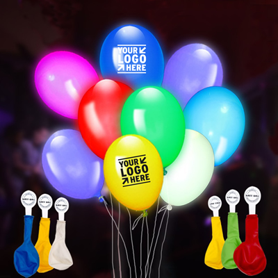 Assorted Color Balloon with LED