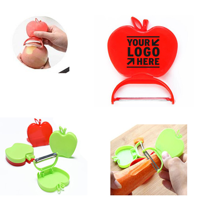 Apple Shaped Folding Plastic Peeler