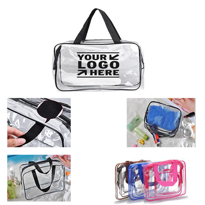 Transparent PVC Toiletry Bag