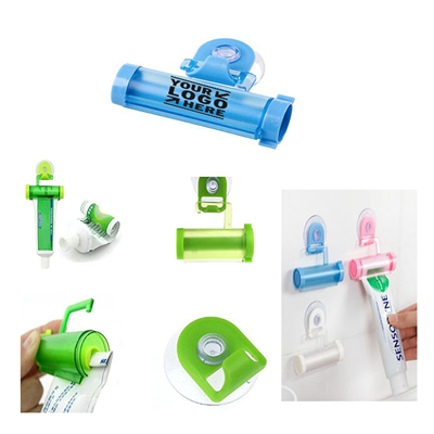 Toothpaste Sucker Holder Rolling Squeezer