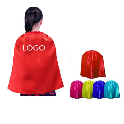 Youth Satin Cape Kids Superheros Cape
